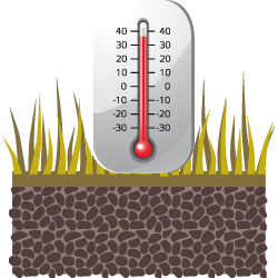Датчик температуры почвы иконка Релеон