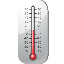 Датчик температуры жидкости и газа иконка Релеон