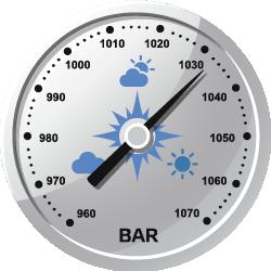 Датчик атмосферного давления (барометр) и температуры окружающей среды иконка Релеон